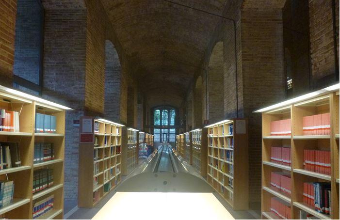 Bibliothèque de l'Université Pompeu Fabra (Barcelone)